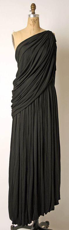 Ensemble, Evening  Madame Grès (Alix Barton)  (French, Paris 1903–1993 Var region)  Date: late 1960s–mid-1980s Culture: French Medium: silk