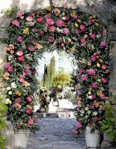 Vintage Rose Garden - love roses