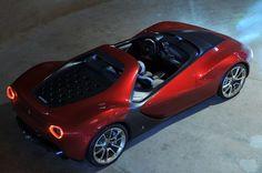 Future Car,  Pininfarina, Ferrari Sergio Concept, 2013 Geneva Motor Show