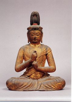 Dainichi Nyorai statue by Unkei (unknown-1224), Japan: property of Tokyo National Museum