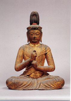 Dainichi Nyorai statue by Unkei (unknown-1224), Japan: property of Tokyo National Museum