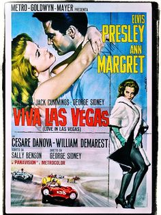 Movie Posters. (24 foto's)Viva Las Vegas - Elvis and Ann Margaret at the top of their career.