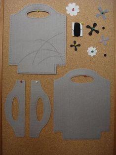 DIY felt bag (1) borse in feltro …