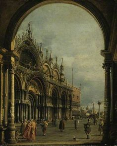 St Marks, Venice by Canaletto