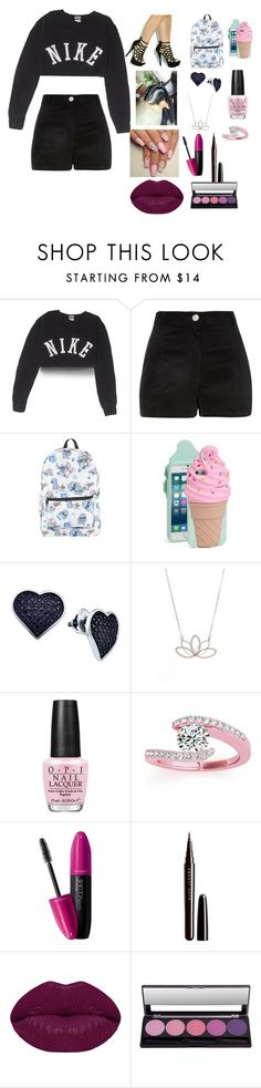 """Untitled #737"" by melaninboobies ❤ liked on Polyvore featuring NIKE, Disney, Kate Spade, BillyTheTree, Nashelle, OPI, Allurez, Revlon, Marc Jacobs and Winky Lux"