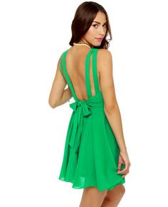 #lovelulus Catalina Island Green Dress