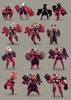 ect - Signa, Alexis Rives : It's about the Year final project from Supinfogame. The objective, create a game demo. So here is the first step of the project. I would talk about later when it will be more advanced. Female Character Design, Character Creation, Character Design References, Character Concept, Character Art, Robot Concept Art, Armor Concept, Creature Design, Pixel Art