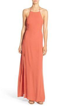 Halter maxi dress express ma