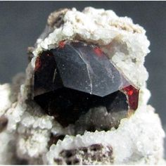 Almandine ~ Garnet Hill, White Pine County, Nevada, United States of America