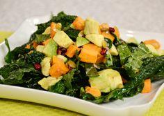 Chef Sam Talbot's Date Night Avocado and Kale Salad #Recipe