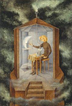 'Papilla estelar', 1958 - Surrealismo en el Thyssen -Remedios Varo