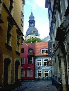 Riga, Latvia - the capital city. #Liepaja is 200km west of Riga, located on the Baltic coastline - 10 km of unspoilt, white beaches