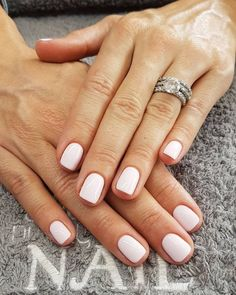 - All of the best summer nails (summer nail colors) that are in right now! I love gorgeous nails as much as the next girl and always want to know what to pick during my next summer manicure. If you& looking for easy summer nails or a summer nails DIY, I& Opi Gel Nails, Diy Nails, Acrylic Nails, Opi Gel Polish, White Shellac Nails, Nude Nails, White Manicure, Coffin Nails, At Home Gel Nails
