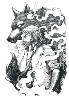 ArtStation - Bigby Wolf (The Wolf Among Us), Rachta Lin