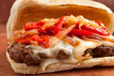 Italian Venison Sausage Sandwiches with Peppers and Onions - Ground venison is mixed with oregano, fennel seeds, garlic, cayenne pepper, paprika, and a little ground beef for fatty juiciness. It tastes like classic Italian sausage—just add sautéed peppers and onions and gooey melted provolone, and serve on a toasted hoagie roll.