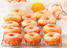 Delicious Donuts, Yummy Food, Actifry, Donut Recipes, Sin Gluten, Cakes And More, Doughnut, Fruit, Cooking