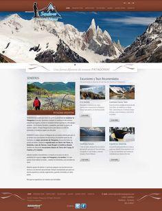 Senderos Patagonia - Turismos Aventura en la Patagonia  Diseño y desarrollo Web 2.0  Sistema Administrable