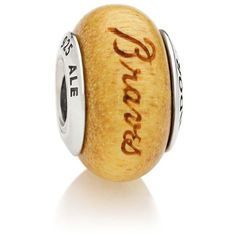 Atlanta Braves Pandora Women's Wood Charm - $64.99