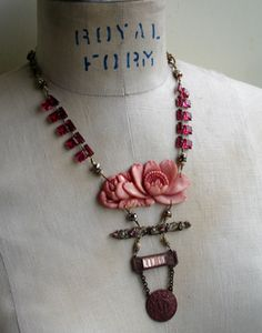 re-purposed vintage finds handmade into jewelry by Paula Montgomery