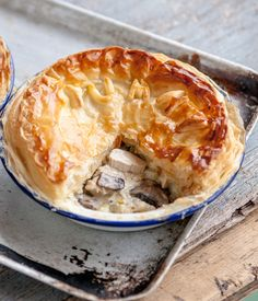 """Chef Shaun Rankin was brought up eating plate pies. As he explains, his mum would often bake on a Sunday afternoon using whatever was left over from lunch: """"You would think after cooking such a big Sunday roast she might have wanted to put her feet up, but not mum."""""""