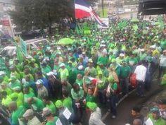 Miles acuden a marcha verde en Puerto Plata