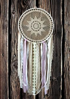 Large Dream Catcher Beige Dreamcatchers Wall Hanging Dream Catcher Boho Dreamcatcher Crochet Lace Dreamcatcher Kids Dream Catcher It will defend you and your family from bad dreams and fight against evil spirits trying to creep into your house at night because they will become