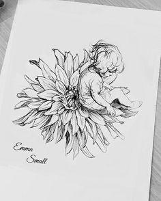 Tattoo sketch by Emma Small #EmmaSmall