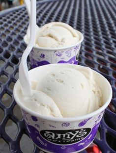 Tito's Vodka and Amy's Ice Cream team up for new summer flavor. Photos: Amy's Ice Cream.