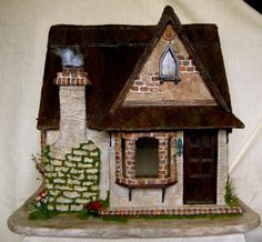 Story Book Cottage front shot - Storybook Cottage 2008 Tracy Topps - Gallery - The Greenleaf Miniature Community