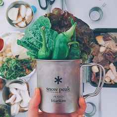 Grab Snow Peak's Titanium Mug, perfect for your next culinary adventure. Outdoor Apparel, Camping Accessories, Moscow Mule Mugs, Snow, Adventure, Woman, Summer, Blue, Summer Time