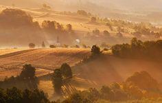 Polska Toskania - Góry Kaczawskie, Jelenia Góra. Zdjęcie wykonane przez Marcina Grzegorczyna
