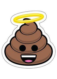 Holy Poo - Poopie Emoji Sticker
