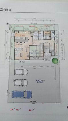 タマホームさん間取り Floor Plans, Diagram, Notes, Architectural Plants, Report Cards, Notebook, Floor Plan Drawing, House Floor Plans