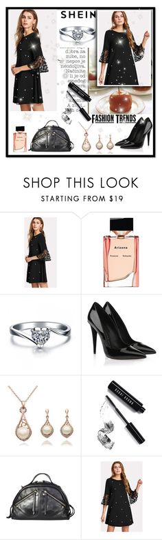 """shein"" by dzenyy ❤ liked on Polyvore featuring Proenza Schouler, Giuseppe Zanotti, Bobbi Brown Cosmetics, Borbonese, Sheinside and polyvoreeditorial"