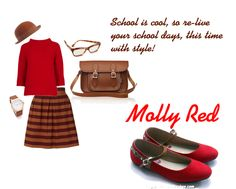If only Molly Red exists in our school days... wait, who says you need to be at school to look cool?