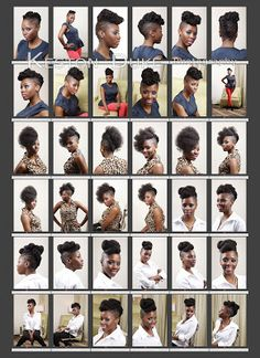 Hair Photography by Keston Duke, NYC    Hair by: Renee Naturalcentric   #NaturalHair #NaturalHairtsyles #CurlyHair #UpDo #HairModel #KestonDukePhotography #NYCPhotographer