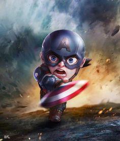 Bebê Capitão América!!
