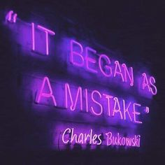 Unique industrial design ideas: These neon signs will elevate your industrial loft or industrial bar Dark Purple Aesthetic, Neon Aesthetic, Neon Quotes, Purple Quotes, Neon Lighting, Quotations, Life Quotes, Sad Quotes, Inspirational Quotes