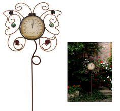 Butterfly+Whimsy+Outdoor+Thermometer+at+The+Animal+Rescue+Site