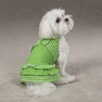 Isobelle Green Party Dress - My Pets Wardrobe Dog Clothes Australia, Dog Fashion & Dogs Accessories online, Dog Clothing