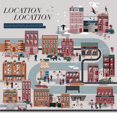 Illustrations: Douglas & Gordon by The Design Surgery , via Behance