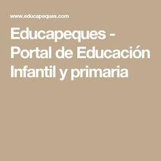 Educapeques - Portal de Educación Infantil y primaria