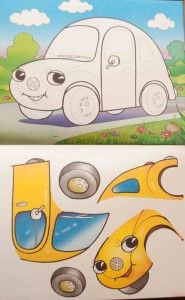 free cut and paste activities for kids Educational Games For Kids, Toddler Learning Activities, Montessori Activities, Kids Learning, Activities For Kids, Preschool Puzzles, Preschool Arts And Crafts, Preschool Themes, Colegio Ideas