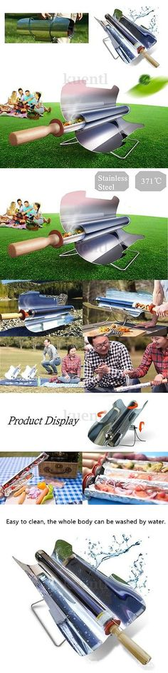 Camping Ovens 181387: Portable Stove Solar Sun Cooker Oven Fuel Free Cooking Camping Outdoor Bbq Grill -> BUY IT NOW ONLY: $182.79 on eBay!