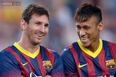 My favorite player is Leo Messi and Neymar I also really like.