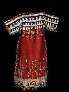 Woman's Dress - Blackfoot - circa 1860
