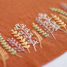 * . 🌿🍂🌱.... . . #刺繍#手刺繍#ステッチ#手芸#embroidery#handembroidery#stitching#needlework#자수#broderie#bordado#вишивка#stickerei