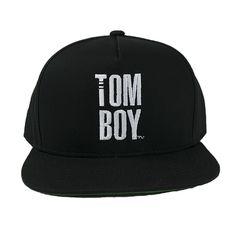 THE Tomboy Snapback Hat - Black
