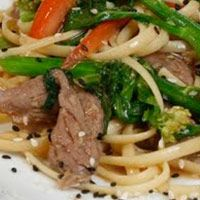 Try this delicious Dreamfields recipe. http://www.dreamfieldsfoods.com/healthy-pasta-recipes/2009/09/stir-fry-with-linguine-with-beef-and.html