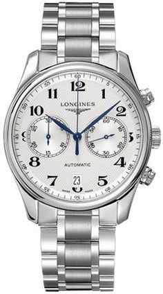 Longines Watches- Longines Master Collection Automatic Chronograph Transparent Case Back Men's Watch: Watches: Amazon.com